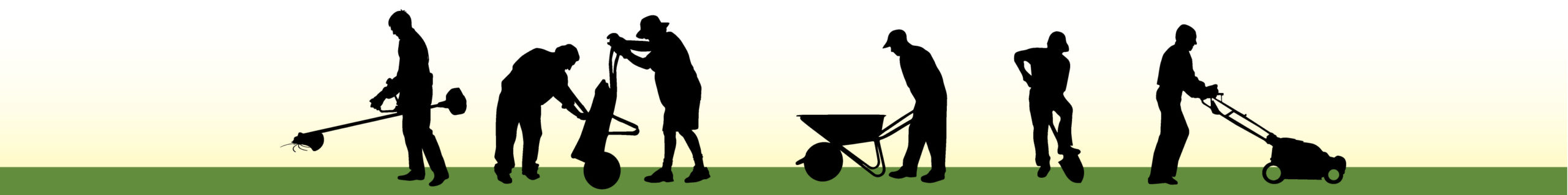 Lawn Worker Graphic