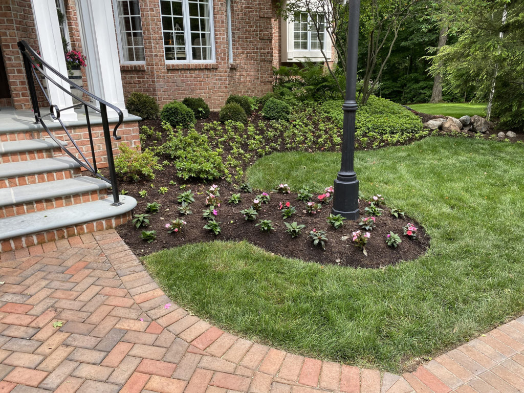 Front Yard Landscaping - Right